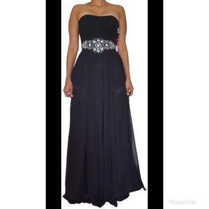 Dancing Queen Strapless Dress